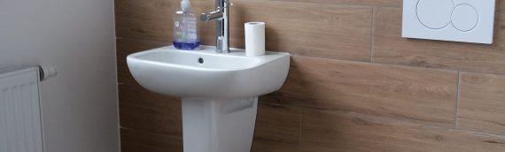 Transformation d'une salle de bain en buanderie