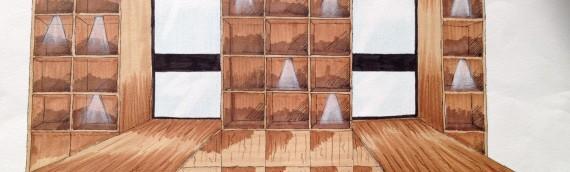 Création d'un meuble sur mesure pour épicerie