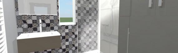 Rénovation d'une salle de bain dans un appartement à Liège