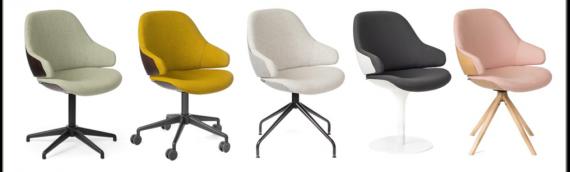 La chaise Ciel un bon compromis entre design et confort