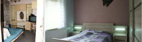 Aménagement d'une chambre parentale à Liège