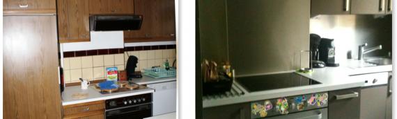 Rénovation d'une cuisine sur Liège